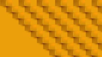square geometric paper art vector illustration