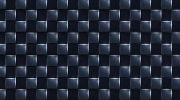 square realistic geometric dark background. white shine light, vector illustration
