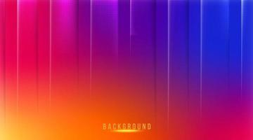 Abstract gradient mesh background in bright Colorful social media background vector