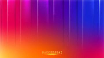 Fondo de malla de degradado abstracto en fondo de redes sociales de colores brillantes vector