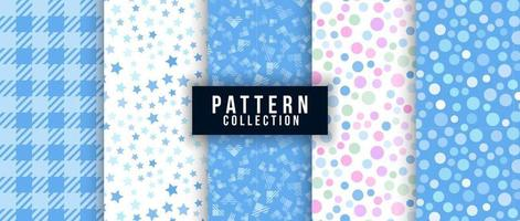 abstract stars and dot pattern vector illustration