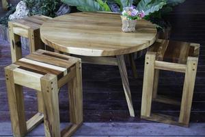 Outdoor garden furniture photo