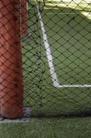 campo de entrenamiento de fútbol de fútbol sala foto
