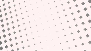 beweging geometrische zwart-witte vierkanten, abstracte achtergrond video