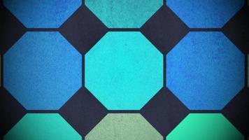 rörelse färgglada hexagon mönster, abstrakt bakgrund