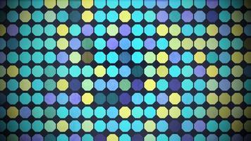 Bewegung buntes Sechseckmuster, abstrakter Hintergrund