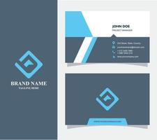 Business Card with Logo R Vector, Eps 10 vector