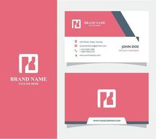 Business Card with Logo K Vector, Eps 10 vector