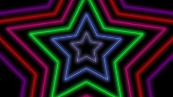 beweging retro sterren abstracte achtergrond