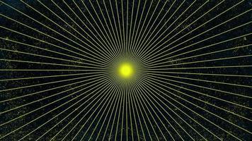 raios amarelos abstratos de movimento, fundo colorido do grunge