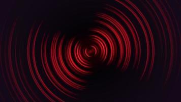 fundo retro de animação em loop, vertigem de movimento abstrato