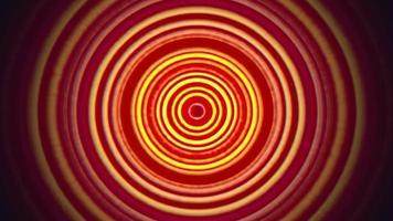Schleifenanimations-Retrohintergrund, abstrakter Bewegungsschwindel