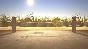close-up zandstrand, zomer achtergrond video
