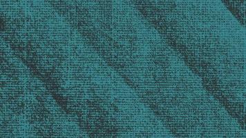 beweging abstracte geometrische blauwe stippen en lijnen, zwarte textielachtergrond
