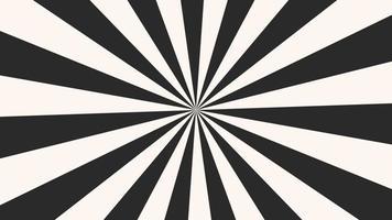motion intro listras pretas e brancas geométricas de vertigem, fundo abstrato
