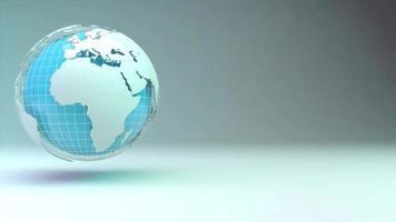 negócio global mundial