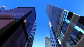 edifício da cidade de negócios