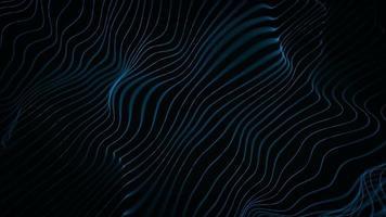 abstrato ondulado linhas fx fundo loop video