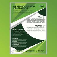 Business flyer design template vector