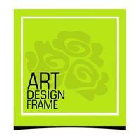 Stylish and minimal photo frame