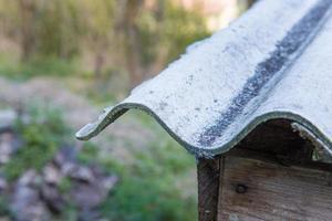 Roof particular asbestos photo