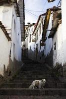 Town Cusco in Peru photo