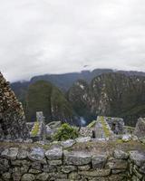 Machu Picchu ruins in Peru photo