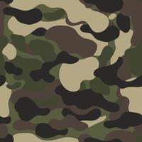 Fondo de camuflaje. camuflaje abstracto. Fondo de patrón de camuflaje colorido. ilustración vectorial. vector