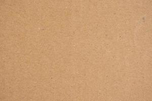 Brown cardboard paper texture background photo