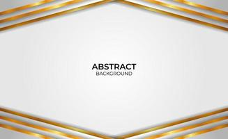 Background gold and gray abstract style vector