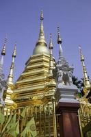 Thai Buddhist public temple photo