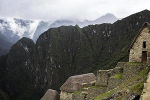Machu Picchu in Peru photo