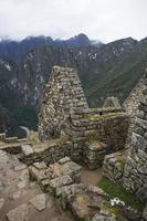 ruinas de machu picchu en perú foto