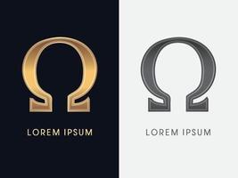 Omega Luxury Graphic vector
