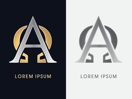 Alpha and Omega Luxury Graphic vector