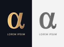 Alpha Luxury Graphic vector