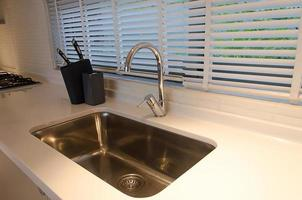 View of a kitchen sink