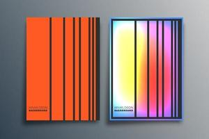 Gradient minimal line design for background, wallpaper, flyer, poster, brochure cover, typography, or other printing products. Vector illustration