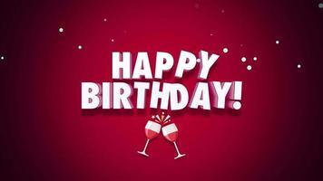 animerad grattis på födelsedagen