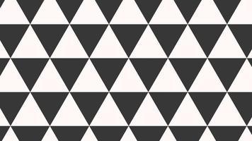 movimiento intro geométricos triángulos en blanco y negro, fondo abstracto