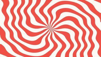 motion intro geometrische rode spiraal lijnen, abstracte achtergrond video