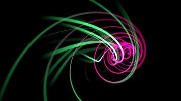 rörelse röda och gröna linjer abstrakt bakgrund
