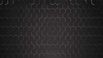 beweging donkere kleine zwarte hex raster achtergrond, abstracte achtergrond