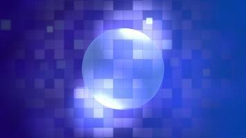 pixels de movimento azul, fundo abstrato