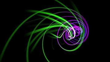 fundo abstrato das linhas de movimento video