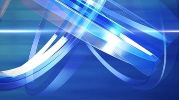 grafische Animation des Nachrichtenintro im Nachrichtenraum mit Linien und kreisförmigen Formen, abstrakter Hintergrund video