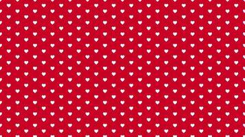 fond brillant de la Saint-Valentin. animation coeur romantique video
