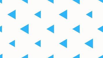 motion intro geometrische blauwe driehoeken, abstracte achtergrond video