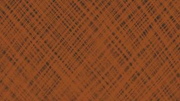 Movimiento abstracto geométrico líneas naranjas, fondo textil negro video
