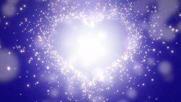 closeup corações azuis do amor, fundo do casamento